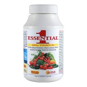Essential-1 with 2000 IU Vitamin D3 180 Capsules