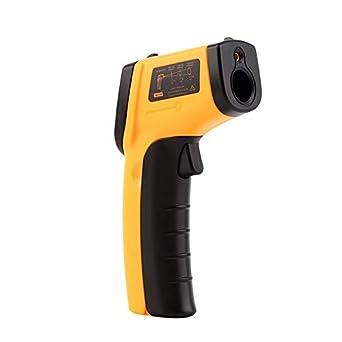 Termómetro infrarrojo sin contacto LCD del arma Termómetro infrarrojo del laser del IR