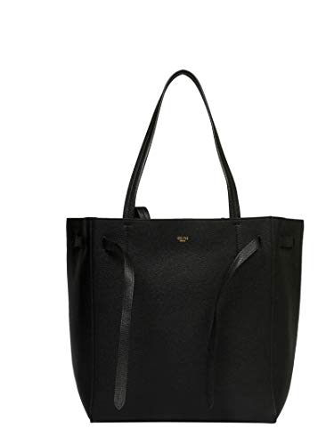 (Céline Women's 189023Tni38no Black Leather Tote)