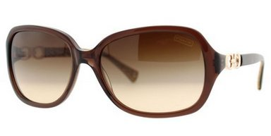 Coach Women 1099081002 Brown/Brown Sunglasses - Coach Frames Spectacle