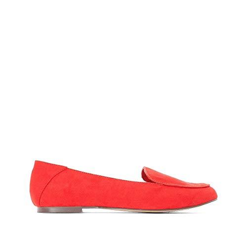 Ballerine Donna Rosso Redoute La Tinta Collections Unita Aqt4wz