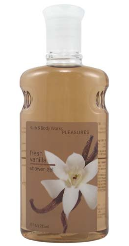 Milk Praline (Bath and Body Works Fresh Vanilla Shower Gel 10 Ounce Vanilla Bean, Sweet Praline and Warm Vanilla Milk)