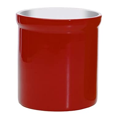 Prepworks by Progressive Ceramic Tool Crock - Red