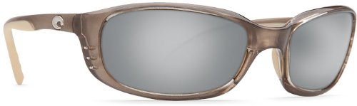 Costa Del Mar Sunglasses - Brine- Glass / Frame: Crystal Bronze Lens: Polarized Silver Mirror Glass Wave - Costa Models Mar Del