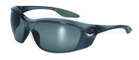 Forerunner Safety Glasses Clear, Smoke, Yellow Tint OR Flash Mirrored Lenses Basic Lens Color: Smoke Flash Mirror