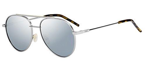 Sunglasses Fendi 222 /S 06LB Ruthenium / T4 black mirror - Aviator Fendi Sunglasses