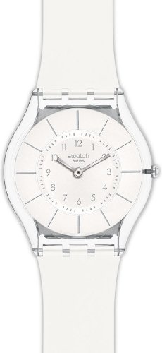swatch-white-classiness-ladies-watch-sfk360