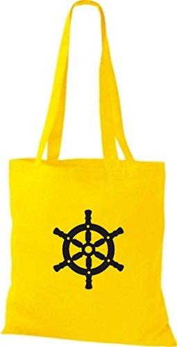 Botas Capitán Skipper Amarillo Yute Bolsa Shirtstown Nave De Volante Tela Y80WSzq