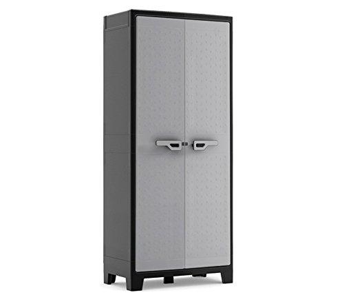 エイアイエス (AIS) 物置 Titan High Cabinet 幅80cm 高さ182cm ブラック 033309 B00IXHFU6G Parent