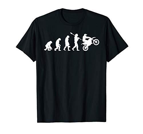 Funny Dirt Bike Evolution Gift Tshirt