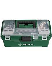 Bosch 73-delige Starter-box voor doe-het-zelvers (accessoire voor klussen: boor- en schroefgereedschap hout, steen en metaal)