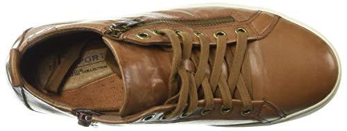 Hill Women's Leather High Willa Almond Top Sneaker Cobb dPqOwd