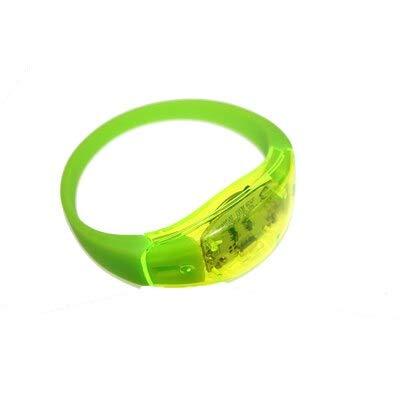 Aquatx Light Up Bracelets 25pcs Cool Vibration Voice Control LED Light Up Unisex Silicone Bracelet Glow Flash Bangle Gift for Party Decoration by Aquatx