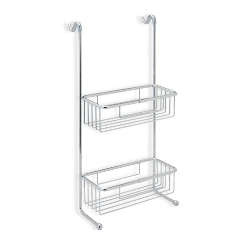 StilHaus StilHaus 785-638845321570 Wire Collection Shower Basket, Chrome by StilHaus