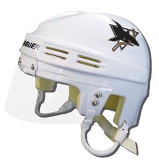 - NHL San Jose Sharks Replica Mini Hockey Helmet