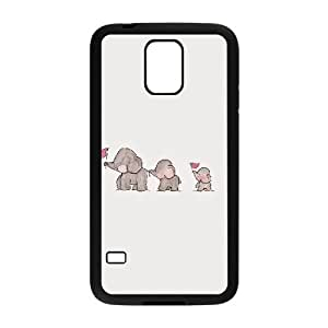 elephant Design Unique Customized Hard Case Cover for SamSung Galaxy S5 I9600, elephant Galaxy S5 I9600 Cover Case
