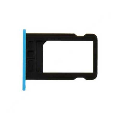 SIM Card Tray for iPhone 5C (Blue) - 5