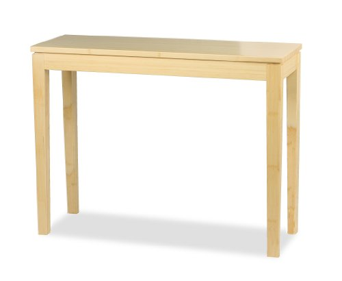 Bamboogle Interiors 10-1448B Brazil Collection Modern Bamboo Console Table in (Ash Console Table)
