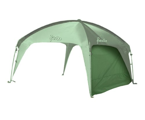 PahaQue Wilderness Cottonwood Sidewall Tent Accessory (Forest Green, 12 x 12-Feet), Outdoor Stuffs