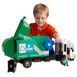 Tonka Titan Green Garbage Truck product image
