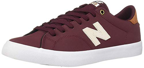 (New Balance Men's 210v1 All Coast Skate Shoe Burgundy/tan 4 D)