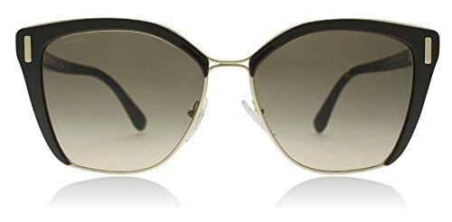 Prada PR56TS DHO3D0 Brown/Pale Gold PR56TS Square Sunglasses Lens Category 2 ()