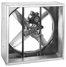 "B01LBFL4DE EXHAUST FAN Industrial - Belt Drive - 54"" - 230V - 5 Hp - 1 Ph - 37,300 CFM 41I1T1FXAcL."
