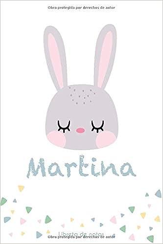 MARTINA LIBRETA DE NOTAS: Cuaderno con 120 Páginas | Páginas ...
