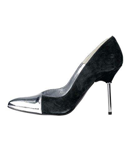 plata Negro De Dini Zapatos Patrizia Ante PHXxUwnqT