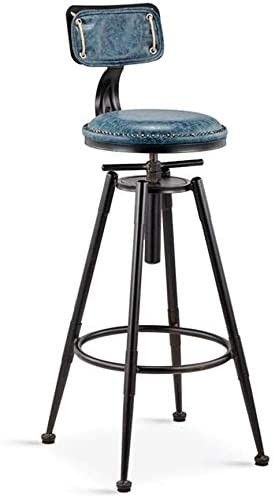 Tabourets De Bar Vintage Chaise De Comptoir En Fer Cuisine