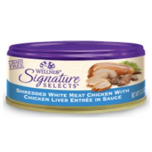 Wc Signature Selects Shredded Chicken/Chicken Liver 24/2.8OZ