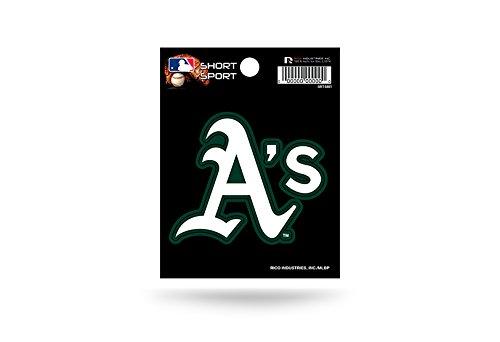 MLB Oakland Athletics Short Sport Decal