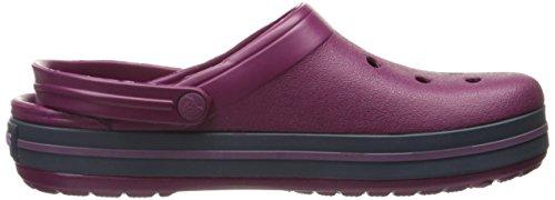 plum navy Crocs Sabots Adulte Violet Crocband Mixte 5wrrxYXB