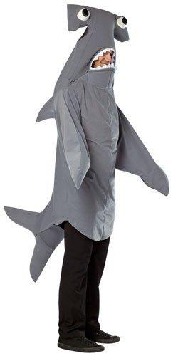 Rasta Imposta one size - Hammerhead Shark Adult Costume,Multicolored