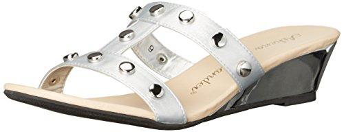 Athena Alexander Women's Tandy Wedge Sandal Silver nLhddh