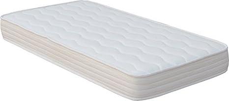 CAMAPOLIS Colchón cuna muelles especial para tu bebe 60 x 120 cms 15 cms altura: Amazon.es: Hogar