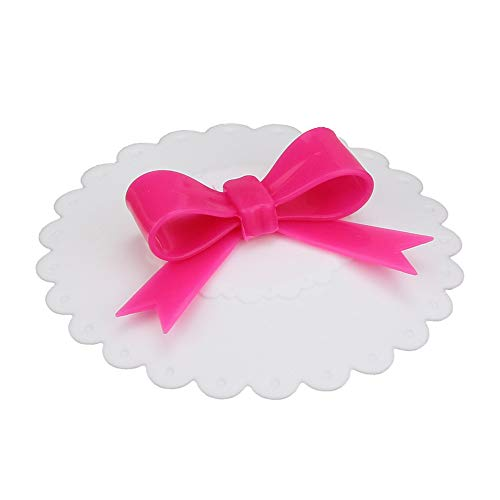 Yu2d  Hot Kawaii Bow Onion Lace Dust Reusable Silicone Cover -