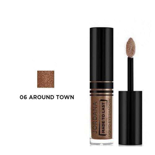 JORDANA Made To Last Last Liquid JORDANA (並行輸入品) Eyeshadow Around Town Brown (並行輸入品) B01E1SLKGO, うりゅう オンラインショップ:08d456eb --- koreandrama.store