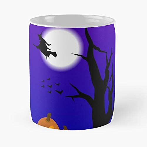 Witchcraft Witch Pagan Paganism - 11 Oz Coffee Mugs Unique Ceramic Novelty Cup, The Best Gift For Halloween. ()