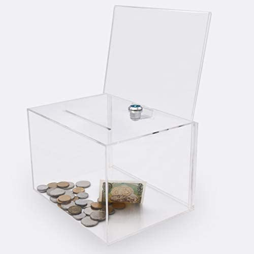 Acrylic Donation Suggestion Storage Container product image