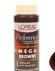 loreal mega browns chocolate - 1