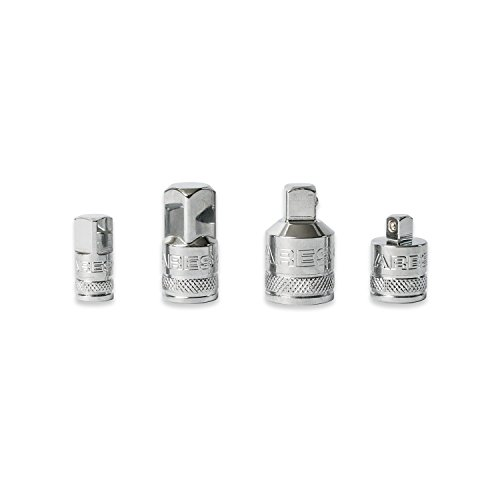 4 Piece Socket Adapter and Reducer Set | ARES 70007 | 1/4