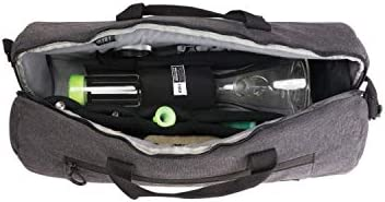 879104fcc014 Lockable 20 Inch ProDuffle Carbon Series Bag with Odor Protection, Black