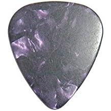 DEMI LOVATO printed signature stamped IN GOLD plectrum guitar pick picks poot(PURPLE PEARL)