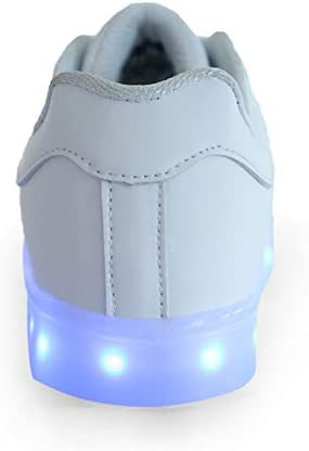 Rojeam Led Shoes Light Up Trainers for Boys Girls - 1