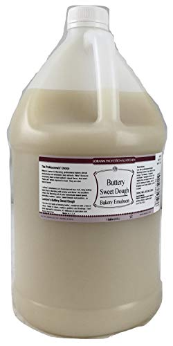 (LorAnn Buttery Sweet Dough Bakery Emulsion, 1 gallon )