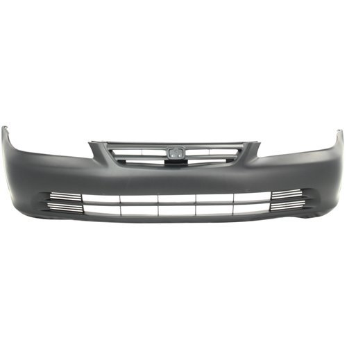 Front Bumper Cover for HONDA ACCORD 2001-2002 Primed Sedan ()