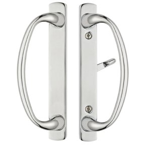 Charlotte Sliding Door Handle Set with 3-15/16