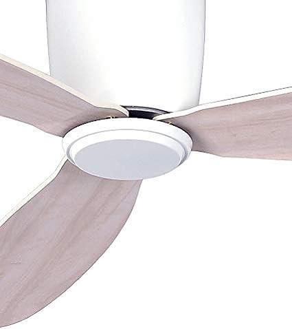 CASA BRUNO Radar Hugger DC-ventilador de techo Ø 132 cm, blanco ...