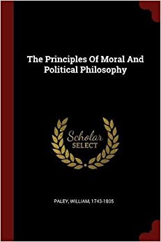 Book The Principles Of Moral And Political Philosophy